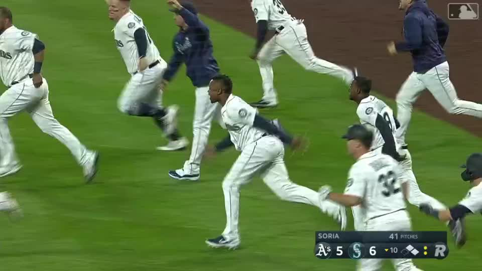 baseball, mariners, mlb, Mariners Walk Off GIFs