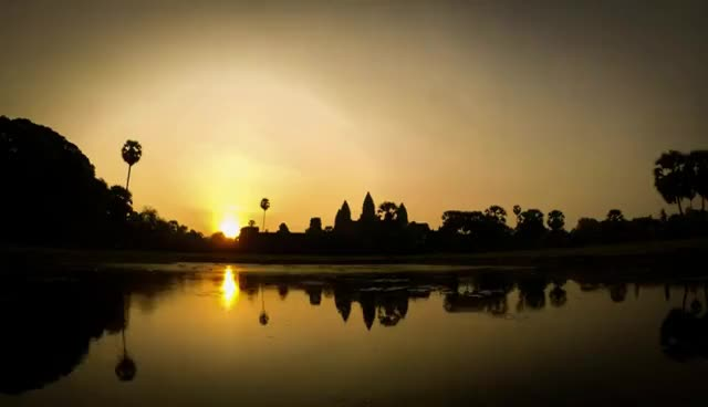 Watch and share GoPro Angkor Wat Timelapse GIFs on Gfycat
