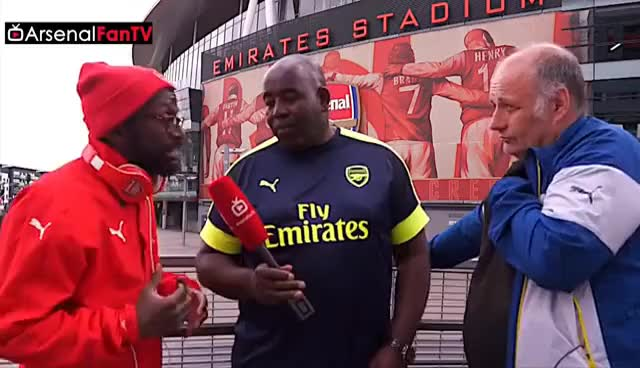 Watch and share Can Arsenal Win The League & Will Claude & TY Ever Agree? GIFs on Gfycat