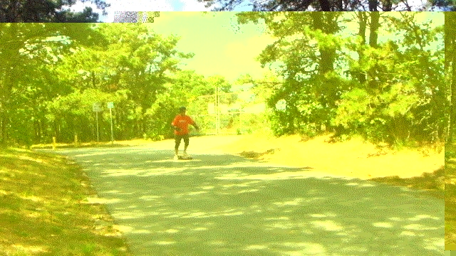 70 years old and still longboarding. GIFs