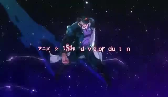 JoJo's Bizarre Adventure OP 3 (with Sound Effects) Stand Proud GIF