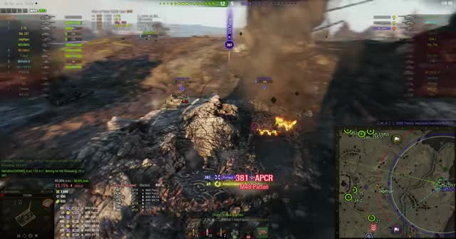 Watch and share WoT Enemy Team Kill.mxf GIFs by v_epsilon on Gfycat