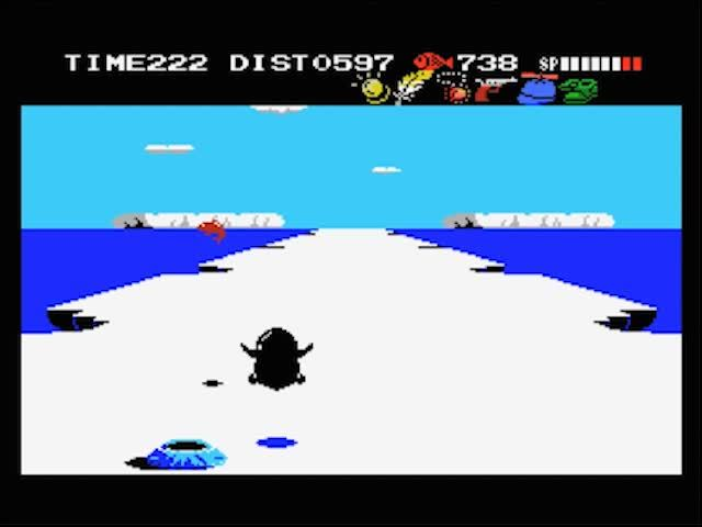 gaminggifs, Penguin Adventure - MSX GIFs