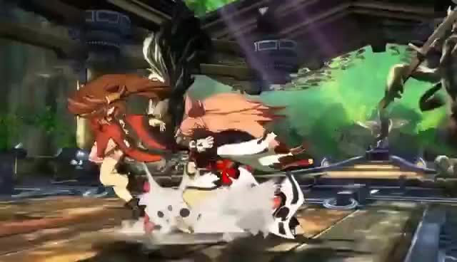 Watch and share Guilty Gear Xrd -Rev 2- Baiken & Answer Gameplay Trailer ギルティギア 梅喧 回答 GIFs on Gfycat