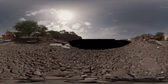 Watch Cidade Velha Beach 360 Cinemagraph, Cabo Verde - pandorama360 @ YouTube GIF on Gfycat. Discover more related GIFs on Gfycat
