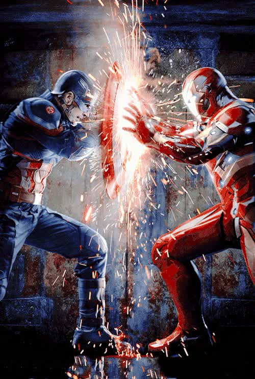 Watch and share Captain America Civil War GIFs and Iron Man GIFs by jaxspider on Gfycat