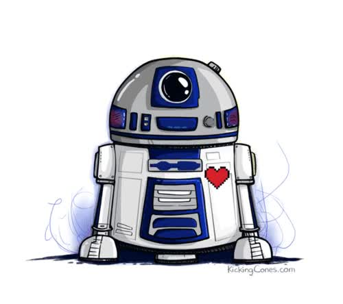 Watch and share R2d2 GIFs on Gfycat