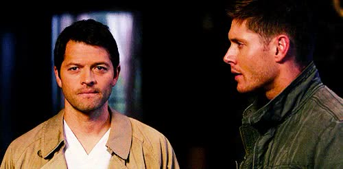 Watch and share Dean Winchester GIFs and Misha Collins GIFs on Gfycat
