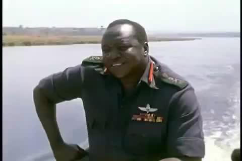 Watch Idi Amin Laughing GIF by @jerbookins on Gfycat. Discover more pics, worldnews GIFs on Gfycat