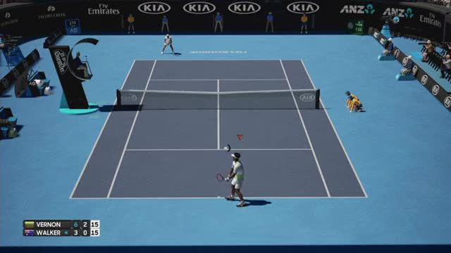 Watch and share Ao-tennis-more-volleying GIFs on Gfycat