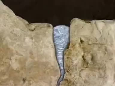 Watch and share Weathering And Erosion - Freeze Thaw Weathering GIFs on Gfycat