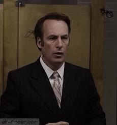 Watch Better Call Saul Its Showtime Folks Jimmy Saul Goodman Reaction GIF on Gfycat. Discover more bob odenkirk GIFs on Gfycat