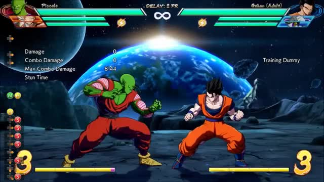 Watch DBFZ Piccolo - Midscreen 2M 5M (/5M 2M) 1bar combo (4537 dmg) GIF by @amex_svk on Gfycat. Discover more related GIFs on Gfycat