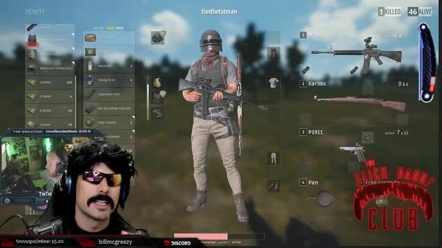 TimTheTatman and DrDisrespect Body Roll-Ception LUL Streamers 720p 29.01.2019