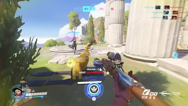 Watch and share Overwatch GIFs and Mercy GIFs by aillurophile on Gfycat