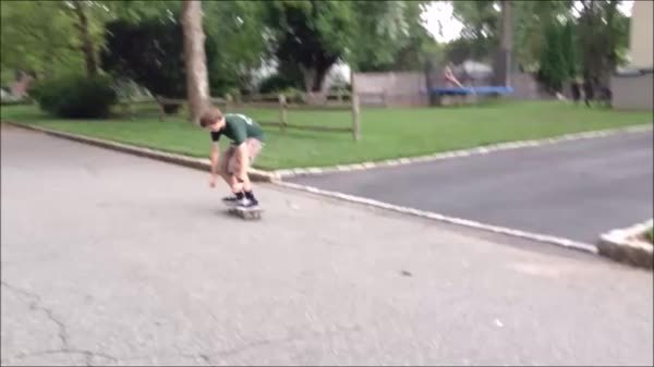 newskaters, For those of you struggling with your Ollie, keep at it. This gif is of my Ollie on my first day, to my Ollie now, one year later. Keep at it, progress is great! (reddit) GIFs