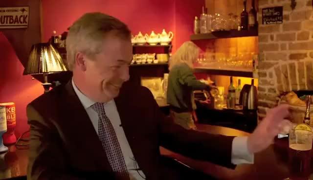 Watch and share Nigel Farage Laugh GIFs on Gfycat