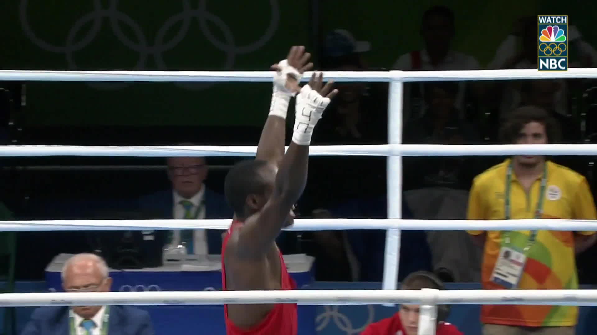 boxing, kenya, olymgifs, Kenya boxing's Warui and coaches nail dance celebration GIFs