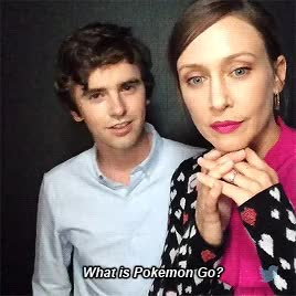 Watch 4@IGNThe adorable Freddie Highmore & @VeraFarmiga accidentally recorded this and we couldn't resist posting it (x) GIF on Gfycat. Discover more vera farmiga GIFs on Gfycat