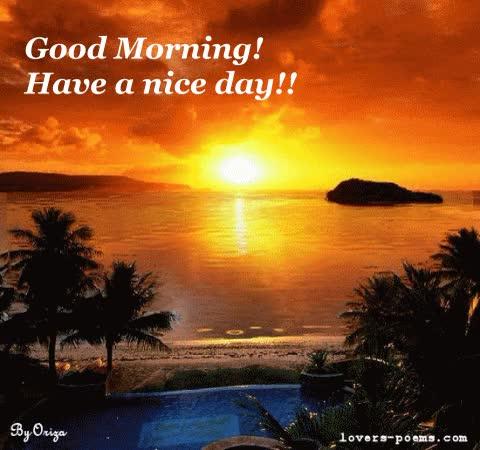 Watch and share Byoriza Good Morning GIFs on Gfycat