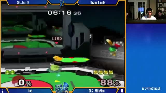 Watch DOLL Fest IV - llod (Peach) vs. OES | MilkMan - Grand Finals GIF on Gfycat. Discover more super smash bros. (video game series) GIFs on Gfycat