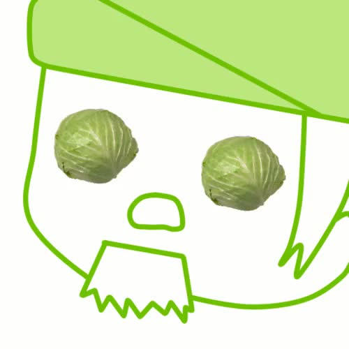 Watch Ask me yourhopefully cabbage related questions! GIF on Gfycat. Discover more AND MORE CABBAGES, CABBAGES, ask blog, avatar, cabbage man GIFs on Gfycat