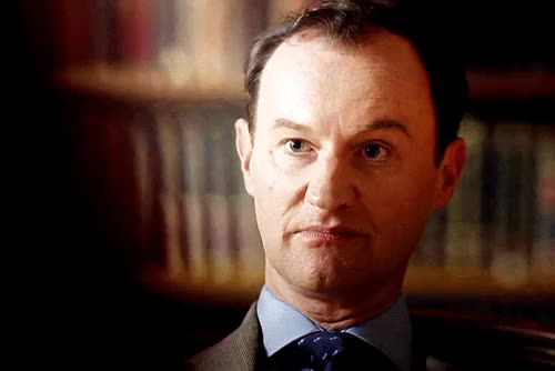 Watch and share Mycroft Holmes GIFs and Jim Moriarty GIFs on Gfycat