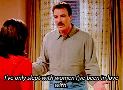 Watch and share Tom Selleck GIFs and Friends GIFs on Gfycat