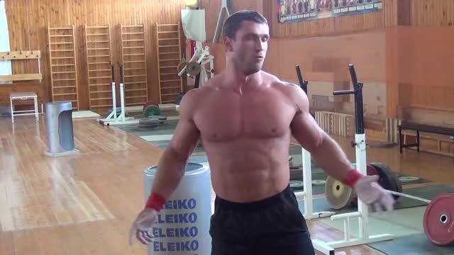 Watch Klokov Dmitry - 180 kg  (18.07.2013) GIF on Gfycat. Discover more kilogram (si base unit), klokov dmitry, weightlifting GIFs on Gfycat