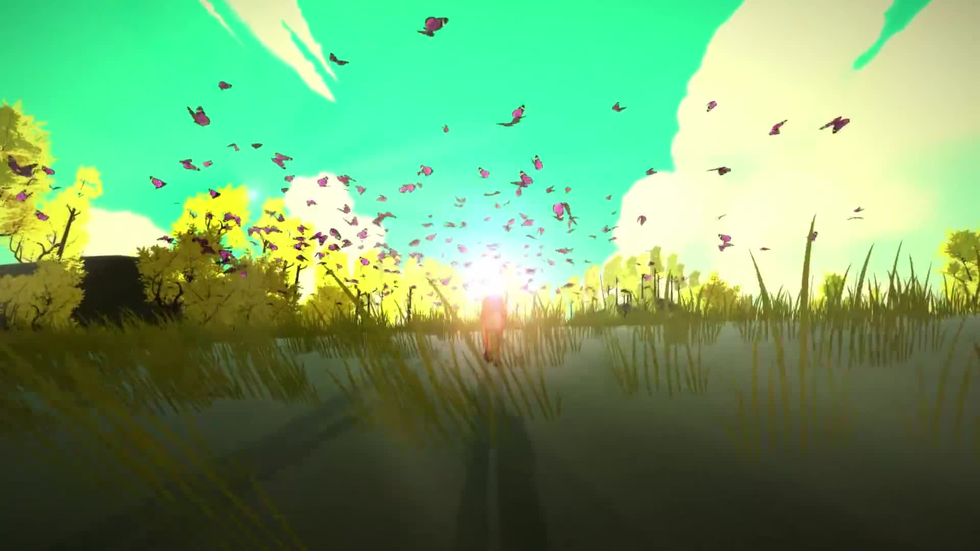 exploration, firewatch, fox, gone home, journey, nature, walking simulator, The First Tree - Official Teaser GIFs