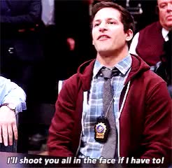 Watch and share Brooklyn Nine Nine GIFs and Jake Peralta GIFs on Gfycat