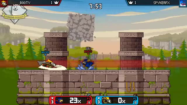 Watch and share Rivals Of Aether GIFs and Forsburn GIFs by Spyker on Gfycat