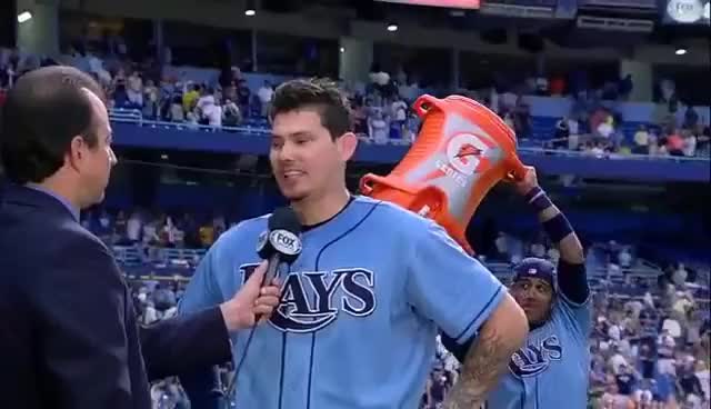Watch and share Tampa Bay Rays GIFs and Jose Lobaton GIFs on Gfycat