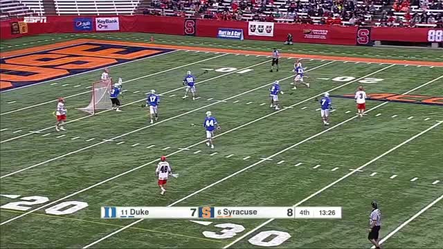 Watch Nick Mariano assists while dodging vs SSDM GIF by Lacrosse Film Room (@laxfilmroom) on Gfycat. Discover more lacrosse, syracuse GIFs on Gfycat