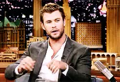 Watch and share Hands Hands Hands GIFs and Chris Hemsworth GIFs on Gfycat