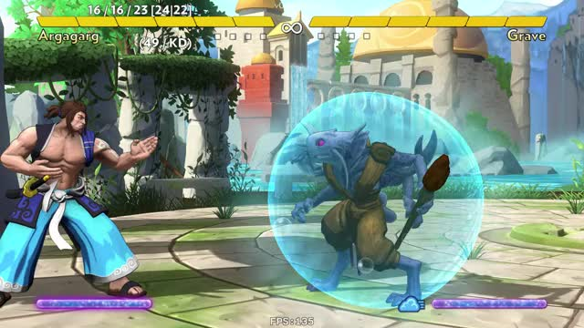 Watch Fantasy Strike 2018-06-28 01 00 01 GIF by mienaikage on Gfycat. Discover more Argagarg, Combo, Fantasy Strike GIFs on Gfycat