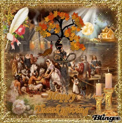Watch Thanksgiving Feast gif. image.blingee.com GIF on Gfycat. Discover more related GIFs on Gfycat