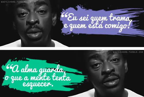 Watch and share Racionais 60e4 Gifs Seu Jorge Negro Drama animated stickers on Gfycat