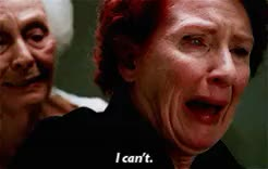 Watch and share Ahs Murder House GIFs and Frances Conroy GIFs on Gfycat