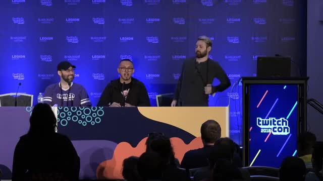 Watch Above the average person GIF on Gfycat. Discover more Entertainment, Jimis, TwitchCon, above average person, to be continued GIFs on Gfycat