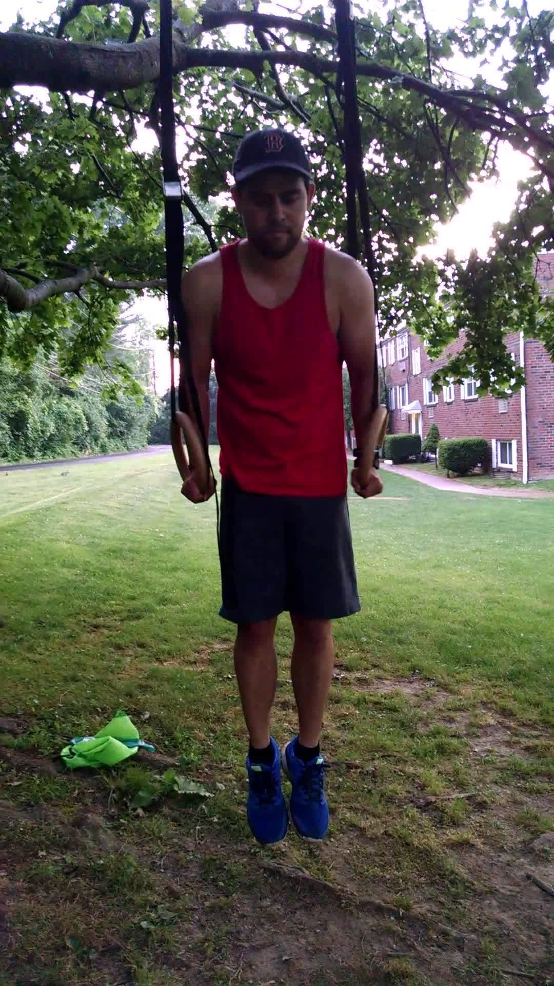 bodyweightfitness, Ring Dips GIFs