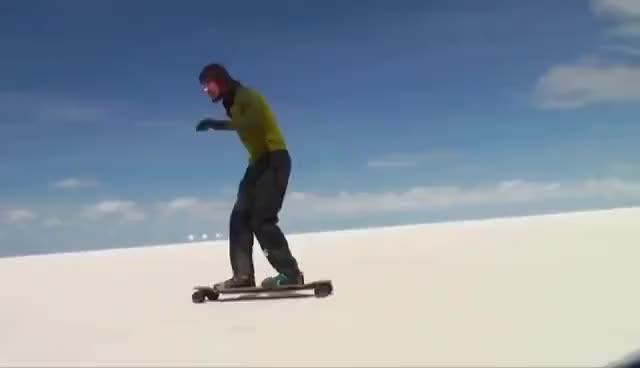 Watch Longboarding in salar de uyuni GIF on Gfycat. Discover more bolivia, salardeuyuni GIFs on Gfycat