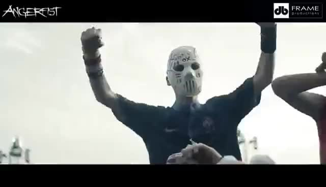 Watch and share Angerfist Live At Dominator Festival 2015 GIFs on Gfycat