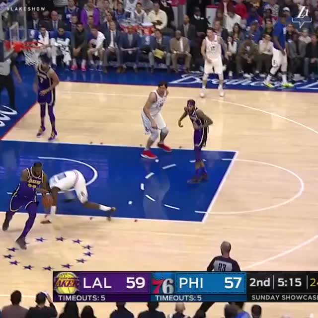 Watch this GIF on Gfycat. Discover more basketball, los angeles lakers, philadelphia 76ers GIFs on Gfycat