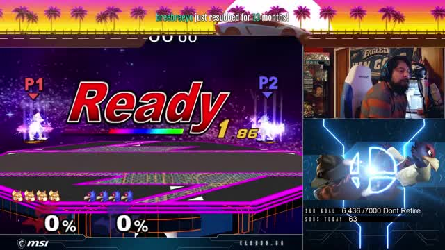 S2J's Falco hits Mang0 with some smooth f-tilts