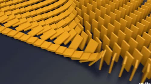 Watch and share Domino Effect GIFs on Gfycat