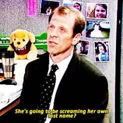 Watch and share Toby Flenderson GIFs and Gabe Lewis GIFs on Gfycat