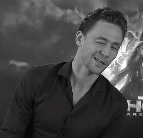 Watch and share Tom Hiddleston Winking GIFs on Gfycat