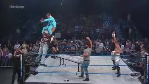 Watch Poor Rockstar Spud (Impact Spoilers) : SquaredCircle GIF on Gfycat. Discover more related GIFs on Gfycat
