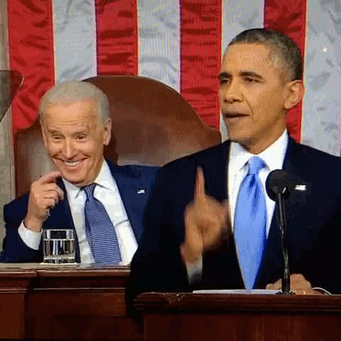 barack obama, joe biden, obama, Joe biden GIFs